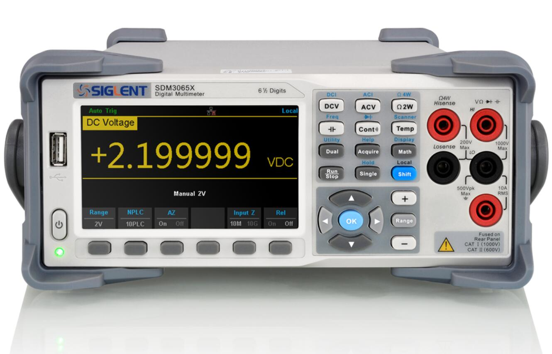 【送料無料】SIGLENTシグレント デジタルマルチメータ SDM3065X-SC