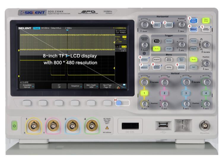 【送料無料】SIGLENTシグレント SDS2000X シリーズ スーパー蛍光体オシロスコープ SDS2102X