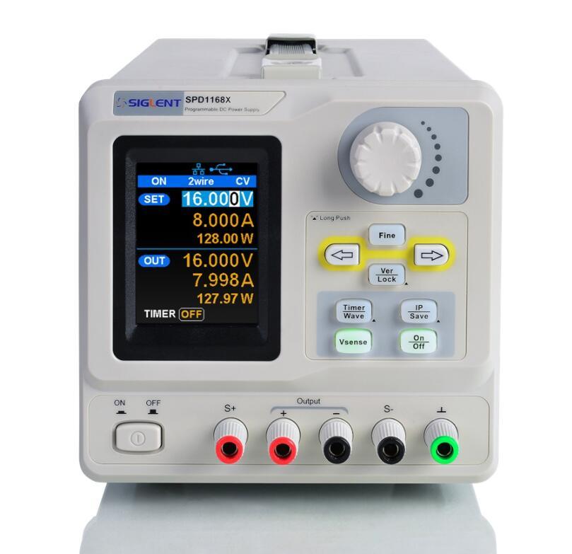 【送料無料】SIGLENTシグレント SPD1000XシリーズプログラマブルDC電源 SPD1168X
