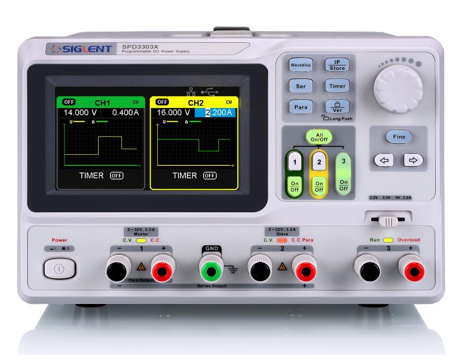 【送料無料】SIGLENTシグレント SPD3000シリーズプログラマブルDC電源 SPD3303X-E