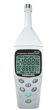 全国送料無料TENMARS社 デジタル温湿度計「TM-183」