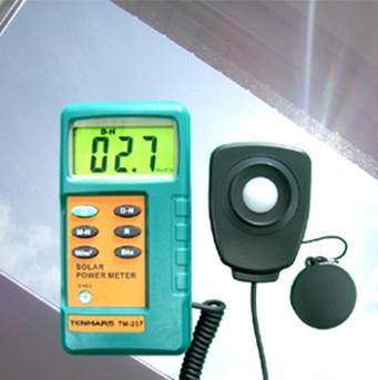 希望者のみラッピング無料 全国送料無料です 2020 新作 メーカー品質保証対応 全国送料無料TENMARS社 太陽光放射強度計 太陽光ソーラーパワーメーター TM-207