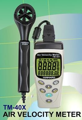 全国送料無料TENMARS社[TM-404]風速・風速・温度・湿度・気圧計センサ TM-404