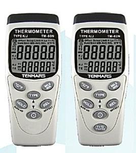 全国送料無料TENMARS社[TM-82N]K/Jタイプデジタル温度計 TM-82N