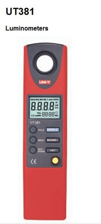 全国送料無料 UNI-T社 ■【正規代理店】[UT381]デジタル照度計 UT381