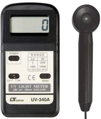 全国送料無料LUTRON社[UV-340A] デジタル紫外線強度計 UV-340A