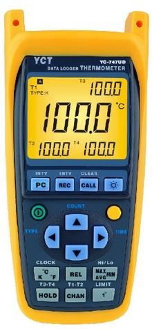 全国送料無料4チャンネル温度計 「YC-747UD」