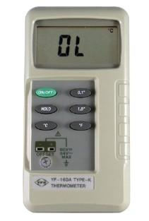 全国送料無料TENMARS社 Kタイプ熱電対温度計「YF-160A」