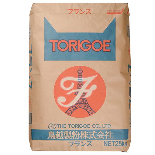 TOMIZ cuoca(富澤商店・クオカ)フランス(鳥越製粉) / 25kg フランス/ハードパン用粉(準強力粉) 準強力小麦粉