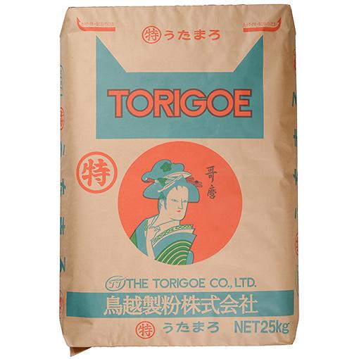 TOMIZ cuoca(富澤商店・クオカ)特うたまろ(鳥越製粉) / 25kg パン用粉(最強力粉) 最強力小麦粉 業務用