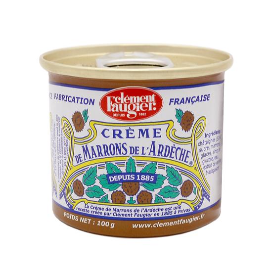 砕いたマロングラッセを加えたなめらかなマロンクリームTOMIZ セール価格 cuoca 富澤商店 クオカ パン作り お菓子作り TOMIZ 栗 かぼちゃ 超定番 マロンクリーム 缶 芋 クレマンフォジエ 100g