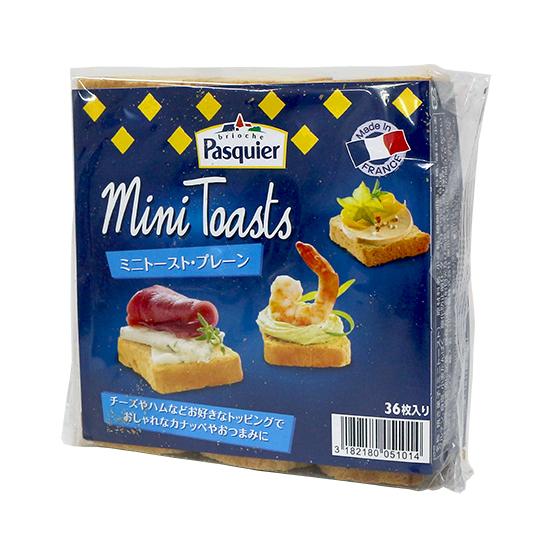 【エントリーで全品P10倍】TOMIZ cuoca(富澤商店・クオカ)ミニトースト・プレーン / 80g(36枚) スナック おやつ・駄菓子