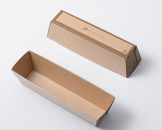 TOMIZ cuoca(富澤商店・クオカ)紙パウンド型 スリム / 100枚 ベーキングカップ パウンド焼成紙型・ベーキングトレー