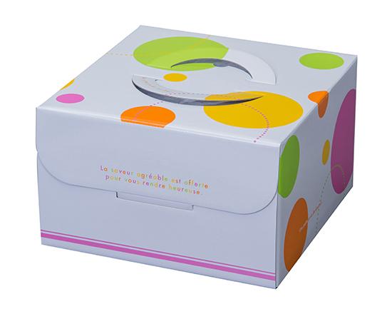 TOMIZ cuoca(富澤商店・クオカ)ロリポップ HP150 7号 (本体) / 50枚 お菓子箱 手提デコ箱