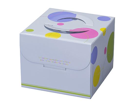 TOMIZ cuoca(富澤商店・クオカ)ロリポップ HP150 5号 (本体) / 50枚 お菓子箱 手提デコ箱