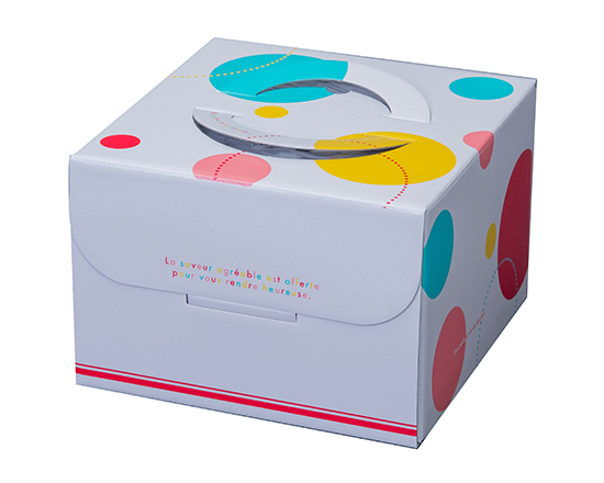TOMIZ cuoca(富澤商店・クオカ)ロリポップ HP150 6号 (本体) / 50枚 お菓子箱 手提デコ箱