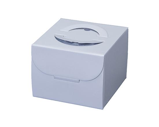 TOMIZ cuoca(富澤商店・クオカ)手提ホワイト HP130 4.5号 (本体) / 50枚 お菓子箱 手提デコ箱