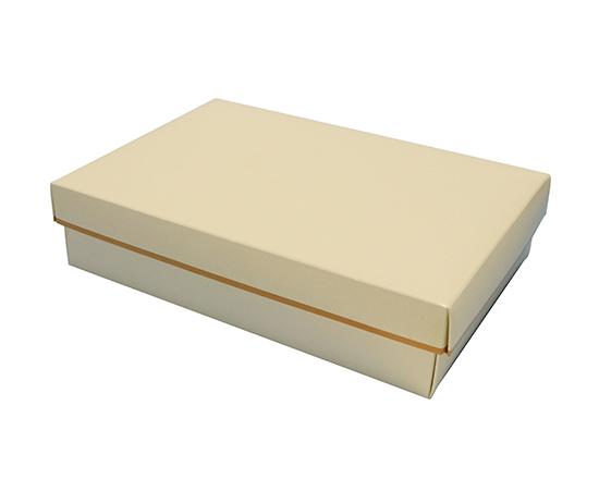 TOMIZ cuoca(富澤商店・クオカ)SG60 アイボリー #2416 / 50枚 お菓子箱 ギフトボックス
