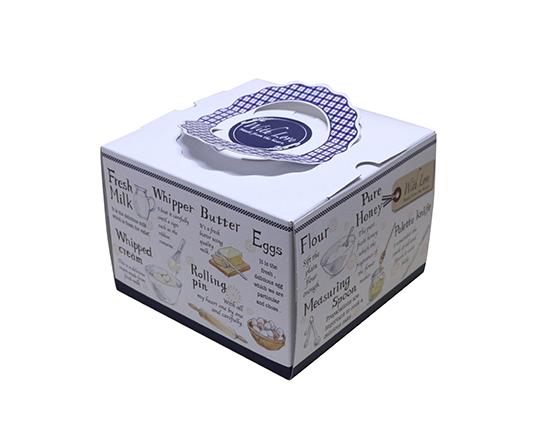 TOMIZ cuoca(富澤商店・クオカ)H115 TD セシボン 4.5寸 (本体) / 50枚 お菓子箱 手提デコ箱
