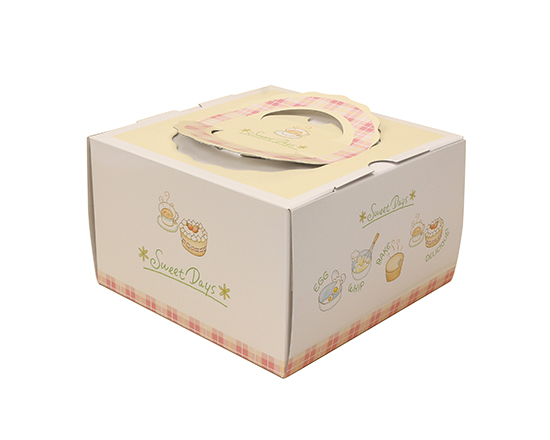 TOMIZ cuoca(富澤商店・クオカ)TD スウィートデー 5寸 (本体) / 50枚 お菓子箱 手提デコ箱