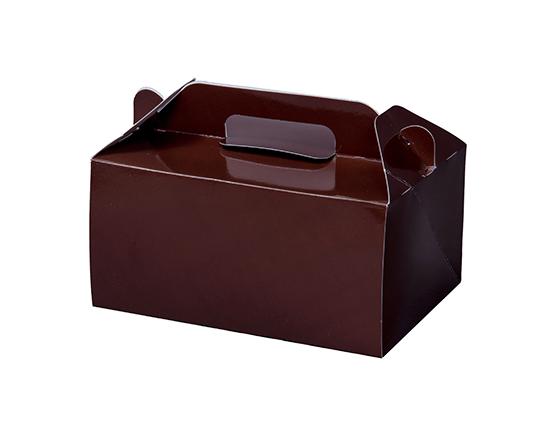 TOMIZ cuoca(富澤商店・クオカ)WDカラー105 ココア 5×7 / 50枚 お菓子箱 手提サービス箱