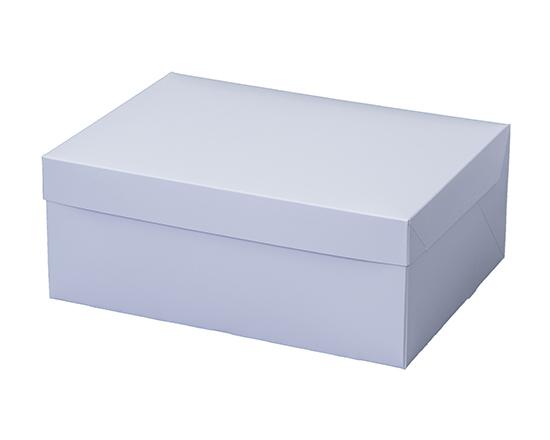 TOMIZ cuoca(富澤商店・クオカ)PCホワイトポケット付 5号 / 50枚 お菓子箱 サービス箱