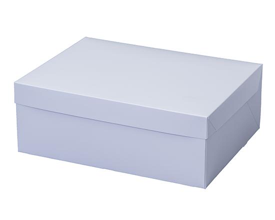 TOMIZ cuoca(富澤商店・クオカ)PCホワイトポケット付 6号 / 50枚 お菓子箱 サービス箱