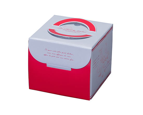 TOMIZ cuoca(富澤商店・クオカ)フレンチ HP130 4号 / 50枚 お菓子箱 手提デコ箱