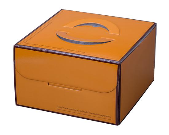TOMIZ cuoca(富澤商店・クオカ)クオリティOr HP150 7号 / 50枚 お菓子箱 手提デコ箱