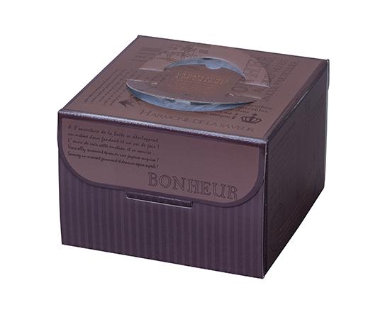 TOMIZ cuoca(富澤商店・クオカ)HJKリシェ HP130 5号 / 50枚 お菓子箱 手提デコ箱