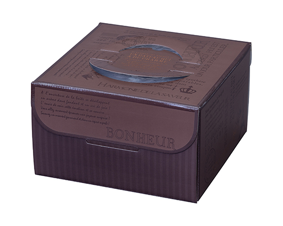 TOMIZ cuoca (富澤商店 クオカ) HJKリシェ HP130 6号 / 50枚 お菓子箱 手提デコ箱