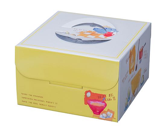 TOMIZ cuoca(富澤商店・クオカ)キッチン HP150 7号 / 50枚 お菓子箱 手提デコ箱