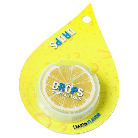 フルーツの美味しさ トラスト 激安挑戦中 香りのするデンタルフロス DROPS レモン ドロップス 50ml