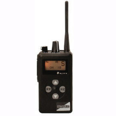 TANI-ST#722SH【送料無料】 ショートアンテナタイプ エコーメイト 携帯型無線機 H105×W60×D26(mm) 谷沢製作所