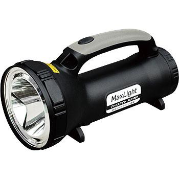 KLC-007 【送料無料】 MAX-LIGHT マックスライト 強力LEDライト 充電式 収納ケース付