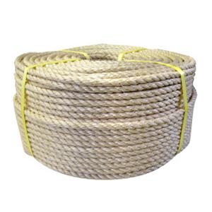 NAASA28100 【送料無料】 麻ロープ (マニラロープ) 28mm×100m