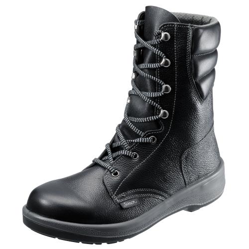 7533黒 安全靴・作業靴 シモン(Simon) ポリウレタン2層底 23.5cm~28.0cm
