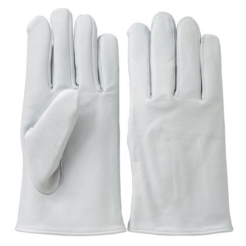 C-514 牛革クレスト手袋 ホワイト (L~LL) 10双セット