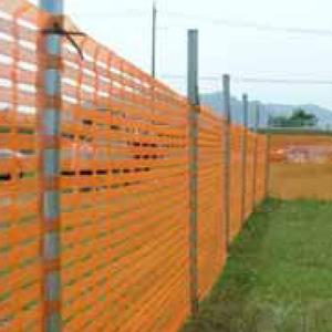 NI-1 トスコ・セーフティネット【国産】 (オレンジネット・ネットフェンス) 1m×50m オレンジ・グリーン・ブルー
