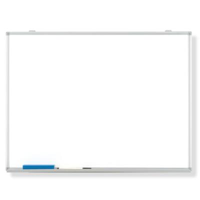 373-77 【送料無料】 無地ホワイトボード 吊り下げ用スライド式金具付 ホーローホワイトボード 900×1800mm