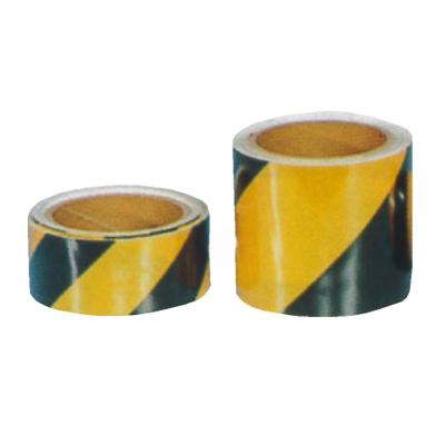 ARA-177 アラオ 反射トラテープ 黄/黒 150mm幅 150W×10m巻
