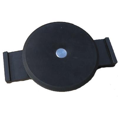 AR-1054 アラオ 覆工板ゴムキャップ Gキャップ 100個セット 天板80Φ高さ15mm 100個入り