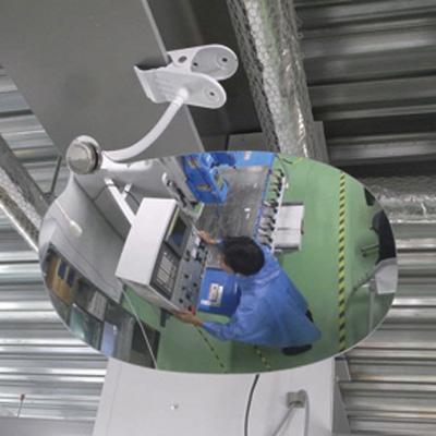 869-701 【送料無料】 スーパーオーバルミラー クリップ式 室内用 UNIT ユニット