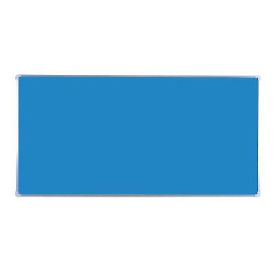 343-09 ユニパネセット 青パネルのみ 耐水ベニヤ(木枠付・アルミ縁) パネル・標識セット 900×1800×25mm