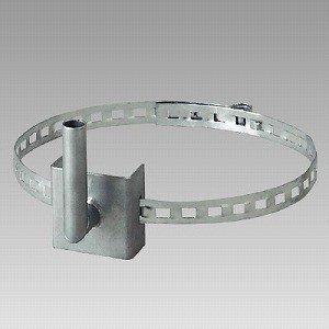 384-93 カーブミラー用電柱取付金具 アクリルミラー用 300mmΦ用 ユニット UNIT