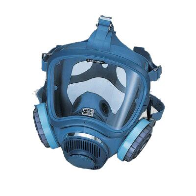 379-31A 全面形防じんマスク 保護具 廃じん対策 石綿対策 国家検定合格第TM226号 ユニット UNIT