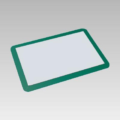 875-90 クリーン関連品 粘着性防じんマット マット・フレームセット マット600×900mm(60枚) フレーム718×1018mm(5mm厚)