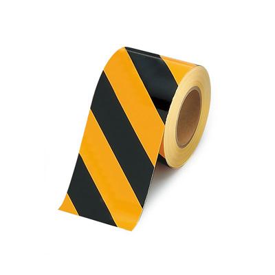 863-660 屋内床貼用テープ ユニフロアテープ 黄/黒 100mm幅×20m巻 UNIT ユニット
