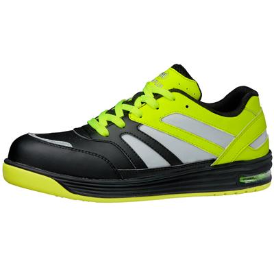 WPA-RF01 高視認 安全作業靴 先芯入りスニーカー ワークプラスエア イエロー 22.5cm~28.0cm