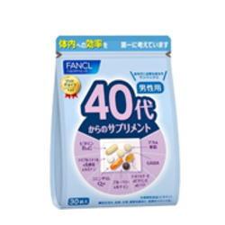 ファンケル 40代からのサプリメント 70%OFFアウトレット 男性用 物品 30袋×3